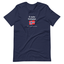 Load image into Gallery viewer, Unisex Norwegian lets smoke a peace pipe T-Shirt