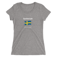 Load image into Gallery viewer, Ladies' Swedish sweet as sugar t-shirt