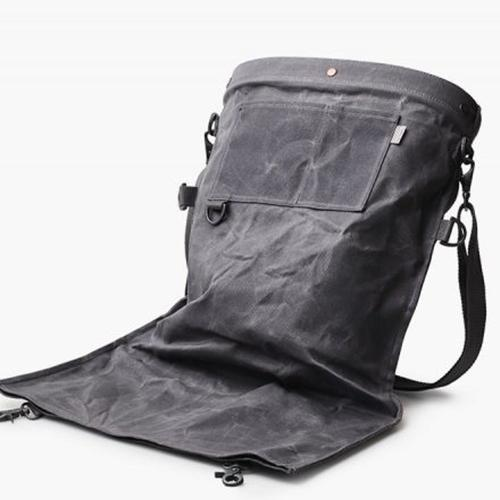 Barebones Gathering Bag – Waxed Canvas Camping & Hiking (Accessories) Barebones
