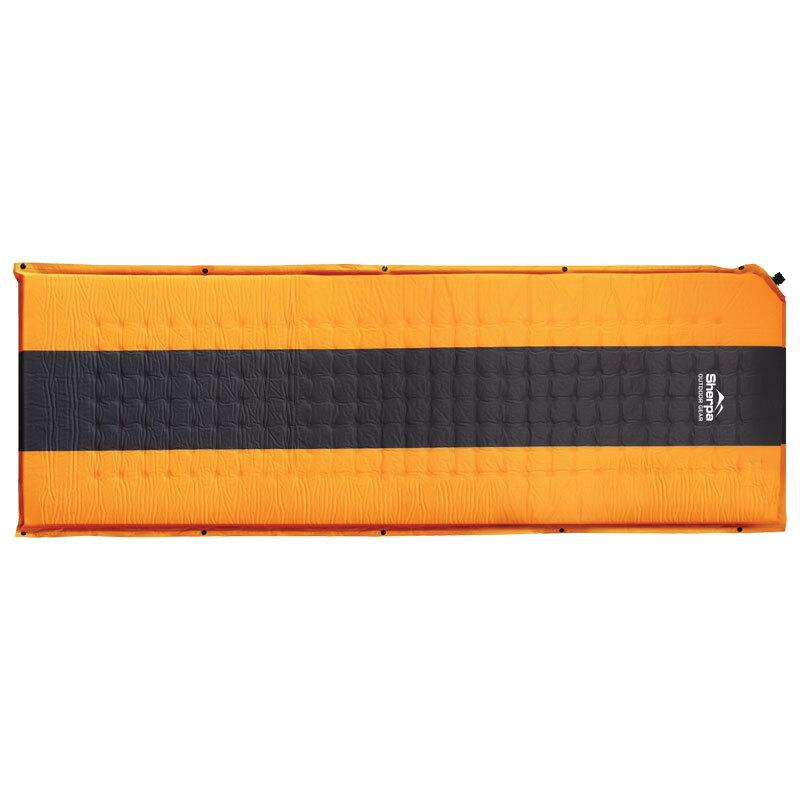 Sherpa Camper Sleeping Mat Orange/Grey Camping & Hiking (Sleep) Sherpa