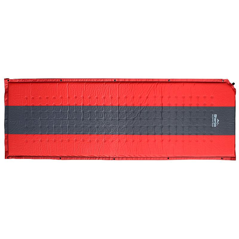 Sherpa Camper Sleeping Mat Red/Grey Camping & Hiking (Sleep) Sherpa