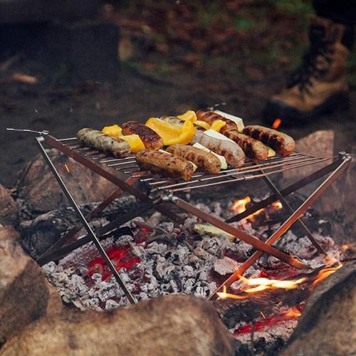 Wolf & Grizzly Grill And Fire Set Camping & Hiking (Cook & Eat) Wolf & Grizzly