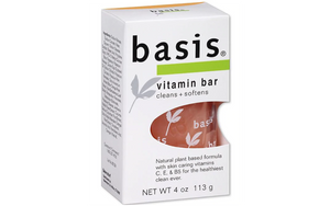 Basis Sensitive Skin Bar Soap Vitamin Bar
