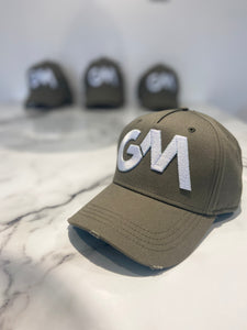 GM Embroidered Cotton baseball Cap