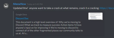 Building a Discord, Part 2 - Action Plans