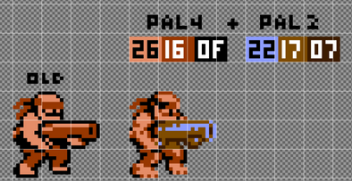 Adding Detail and Color with Palettes in NES Art