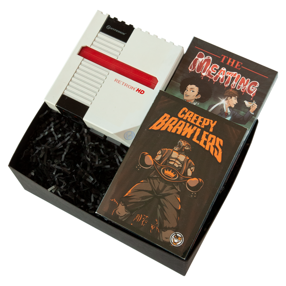The Meating & Creepy Brawlers + NES Retron HD