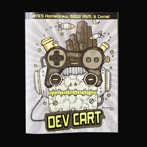 Dev Cart Magazine - Volume 3 - Mega Cat Studios
