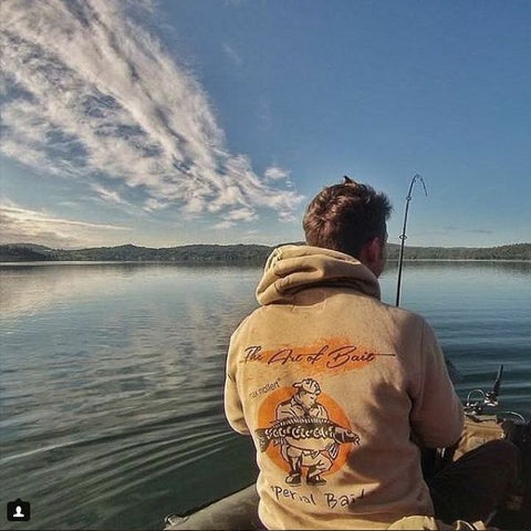 "Imperial Baits Hoodie - ""The Art of Bait"""