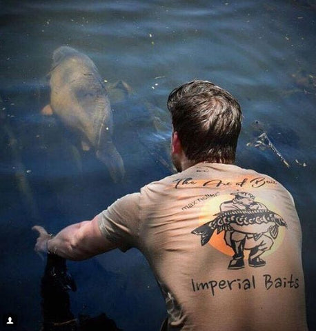 "Imperial Baits T-Shirt ""The Art of Bait"""