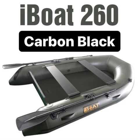 iBoat 260 GEN5 Superlight - noir de carbone - bateau gonflable