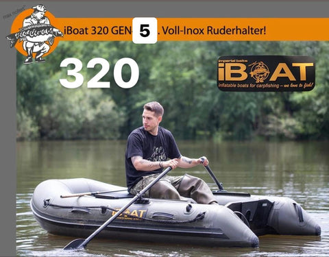 iBoat 320 GEN5 Superlight - classic green - inflatable boat
