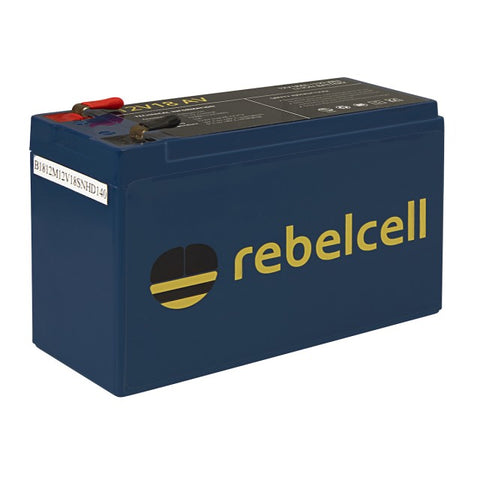 Rebelcell Li-ion Battery 12V / 18AV