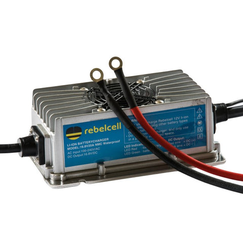 Rebelcell Charger 16.8V20A Li-Ion Waterproof
