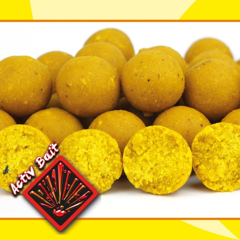 IB Carptrack Banana Activ Bait Boilie - 2 kg / 20 mm