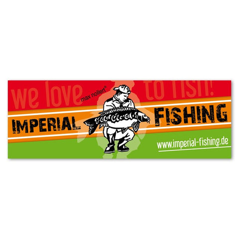 Sticker Imperial Fishing - 15 cm