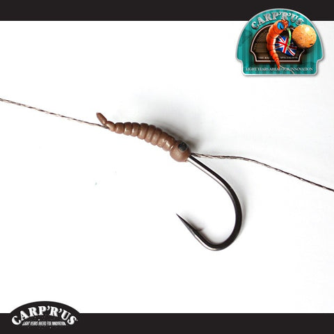 Carp'R'Us - Strip-X Rig 25lb (fertig gebunden) - Continental Snag Hook