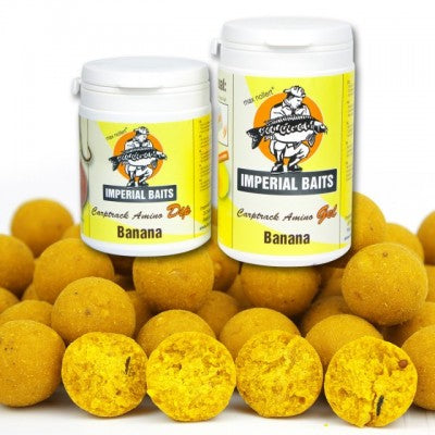 IB Menu Banana Boilies 5 kg / 16 mm + Dip & Gel