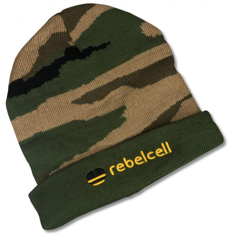 Rebelcell Beanie Hat - Camo