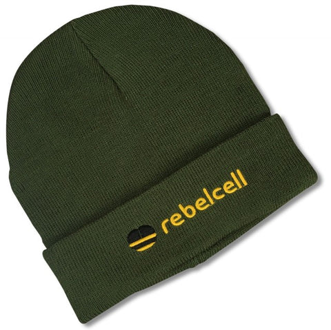 Rebelcell Beanie Hat - Army Green