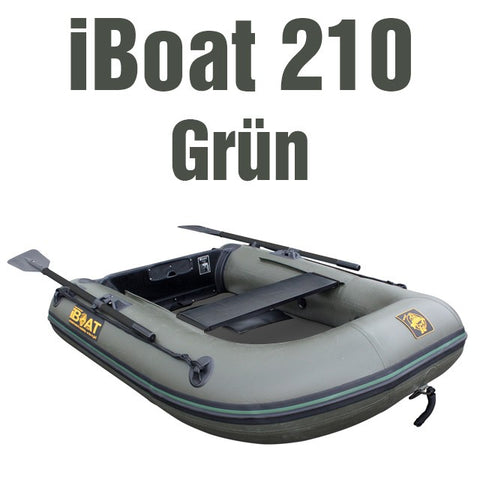 SALE: Gen 3 iBoat 210 - green