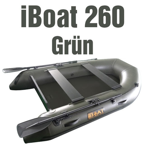 iBoat 260 GEN4 - green - included accessories