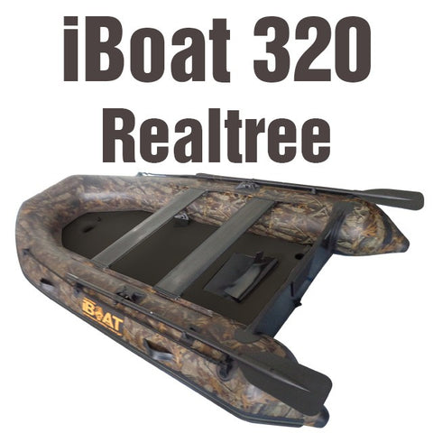 iBoat 320 GEN4 - realtree - with accessories