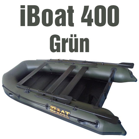 iBoat 400 GEN4 - green - with accessories