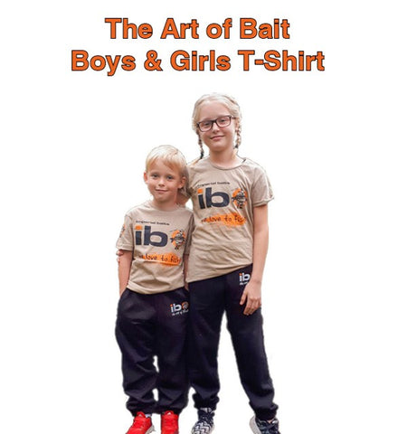 "Imperial Baits Boys & Girls T-Shirt - ""The Art of Bait"""