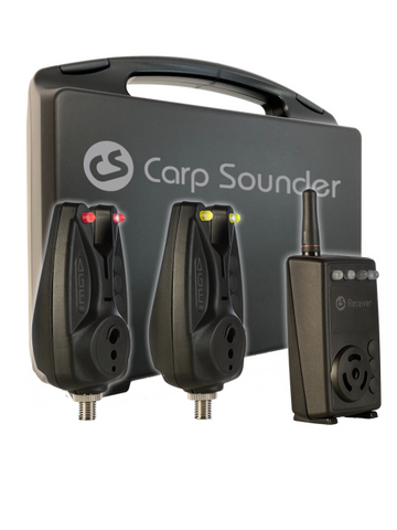 CARP SOUNDER AGEone 2+1 Set incl. transport case