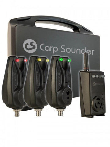 CARP SOUNDER | AGEone | 3+1 Set incl. transport case