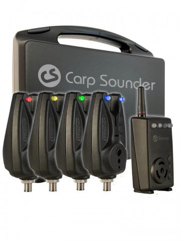 CARP SOUNDER AGEone 4+1 Set incl. transport case