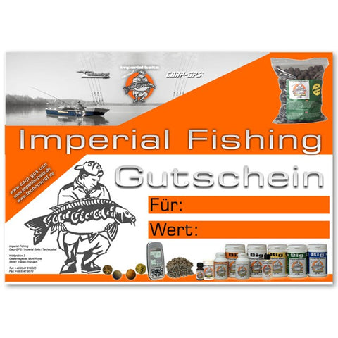 Imperial Fishing Voucher - 25 €