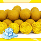 BOUGIE : Carptrack Birdfood Banana Cold Water Boilies 2 kg / 20 mm