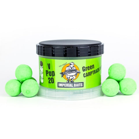 IB Carptrack V-Pops - green - 60g / 16mm