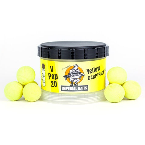 IB Carptrack V-Pops - jaune - 60g / 16mm