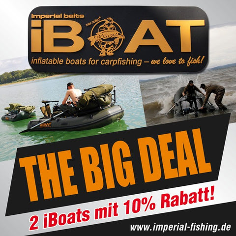 "iBoat ""The Big Deal"" : 2 iBoats avec 10% de réduction de prix !"