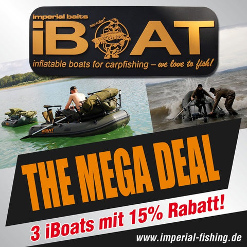 "iBoat ""The Mega Deal"": 3 iBoats with 15% price reduction!"