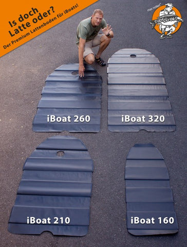 Premium slatted floor for iBoat 160