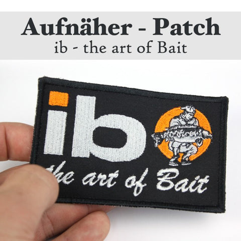 "Patch ""ib - l'art de l'appât"""