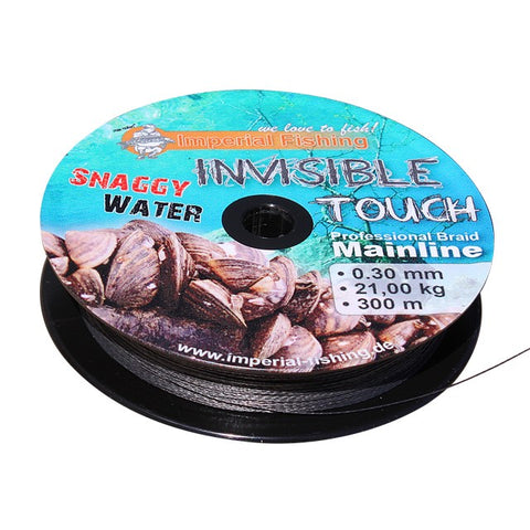 Invisible Touch Snaggy Water (braided mainline) - 0,30 mm / 600 m