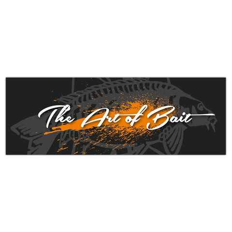 "Sticker ""The Art of Bait"" - 15 cm"