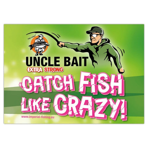 "Sticker ""Uncle Bait"" - 15 x 11 cm"