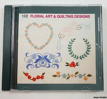 Load image into Gallery viewer, 102 Floral Art and Quilting Designs