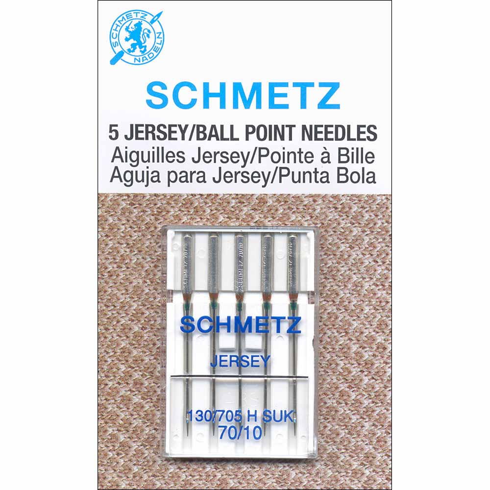 SCHMETZ #1725 Ball Point Needles Carded - 70/10 - 5 count