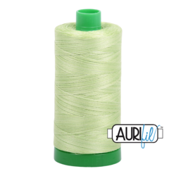 3320 SPRING GREEN  - AURIFIL 100% COTTON THREAD 40WT.