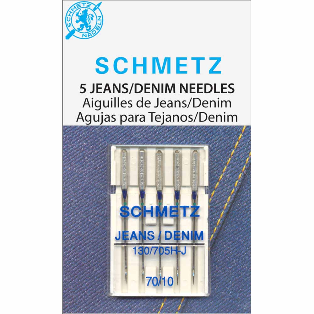 SCHMETZ #1780 Denim Needles Carded - 70/10 - 5 count