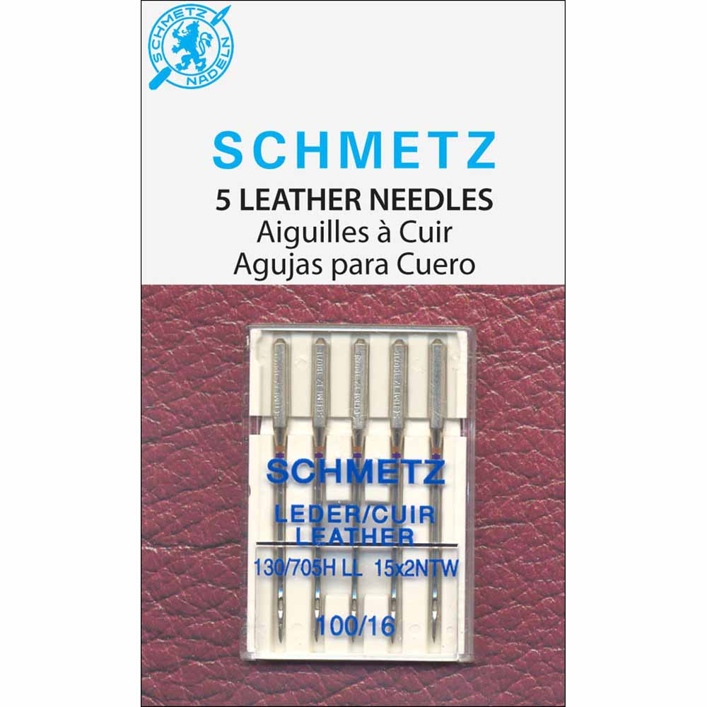 SCHMETZ #1785 Leather Needles Carded - 100/16 - 5 count