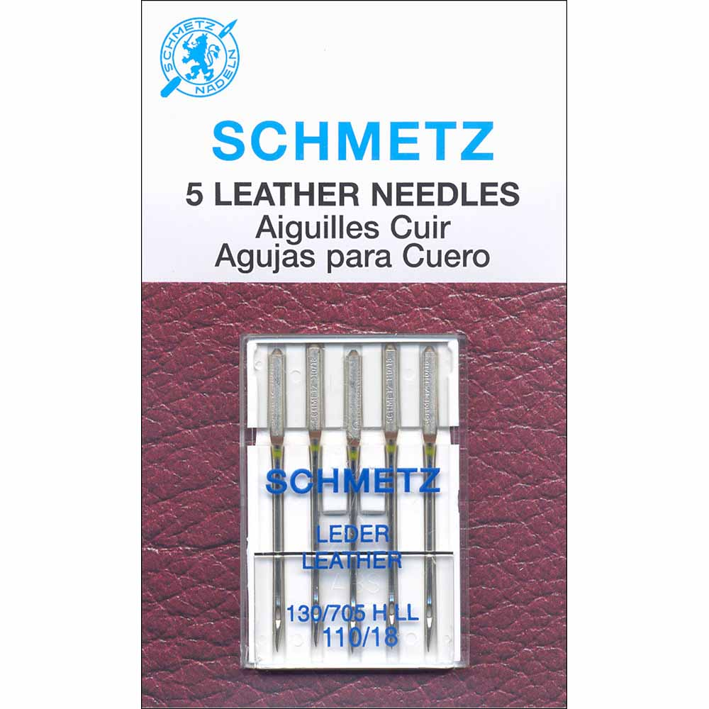 SCHMETZ #1786 Leather Needles Carded - 110/18 - 5 count