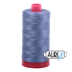 1248 DARK GREY BLUE - AURIFIL 100% COTTON THREAD 12WT.